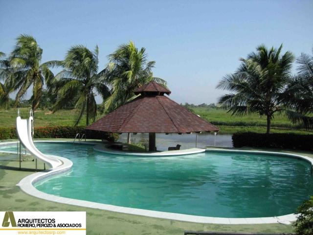 Bienvenidos a arquitectos rp for Casa de campo con piscina